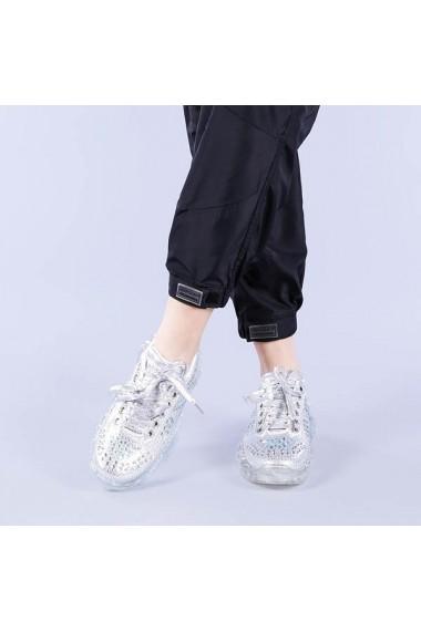 Pantofi sport dama Mireya argintii