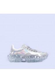 Pantofi sport dama Miroslava argintii