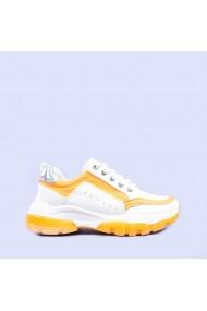 Pantofi sport dama Mona portocalii