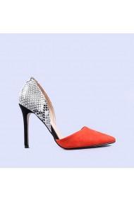 Pantofi dama Wesley portocalii
