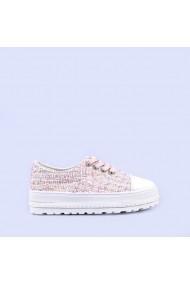 Pantofi casual dama Zandra roz