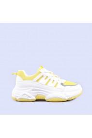 Pantofi sport dama Aleena galbeni