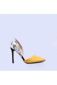 Pantofi dama Wesley galbeni