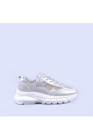 Pantofi sport dama Abana argintii