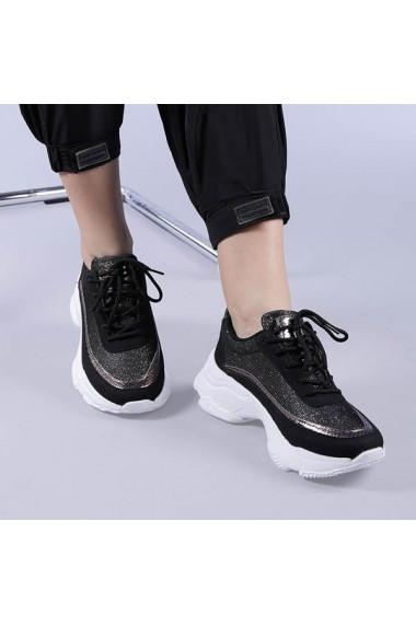 Pantofi sport dama Taylor negri