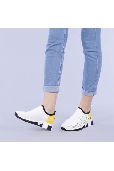 Pantofi sport dama Malvina galbeni