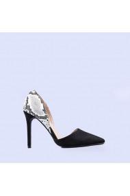 Pantofi dama Wesley negri