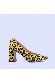Pantofi dama Silvia galbeni