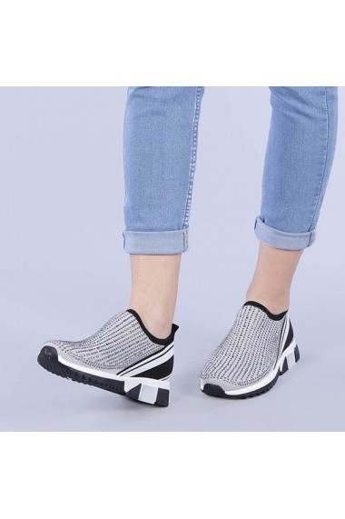 Pantofi sport dama Madeline gri