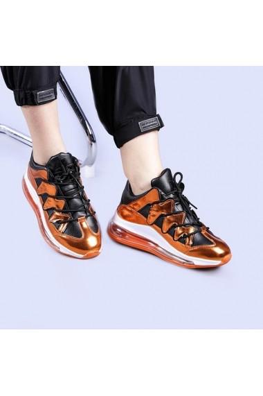 Pantofi sport dama Yogi aurii