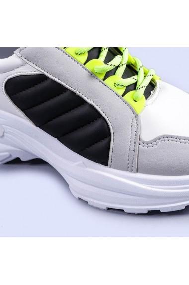 Pantofi sport dama Sundari albi