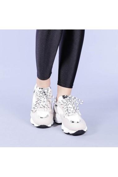Pantofi sport dama Sanjeet albi