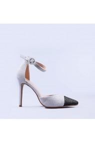 Pantofi dama Shakira argintii
