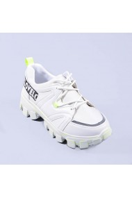 Pantofi sport dama Magdalen albi