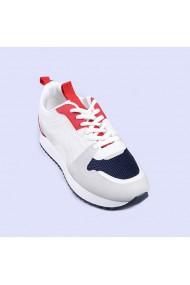 Pantofi sport dama Aurelia albi