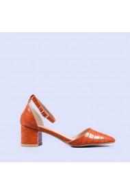 Pantofi dama Arabella portocalii