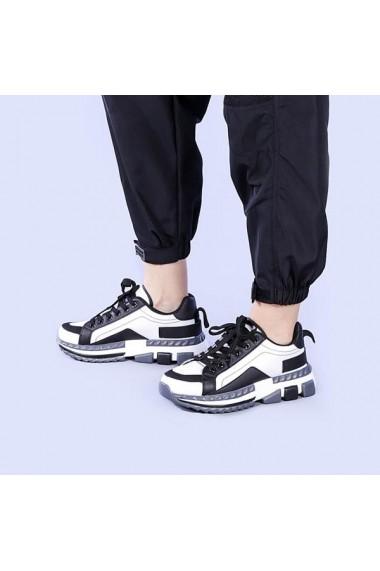 Pantofi sport dama Agata albi