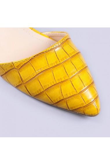 Pantofi dama Arabella galbeni
