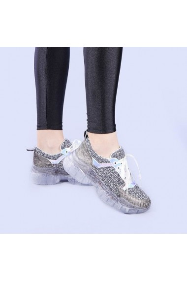 Pantofi sport dama Xiang gri