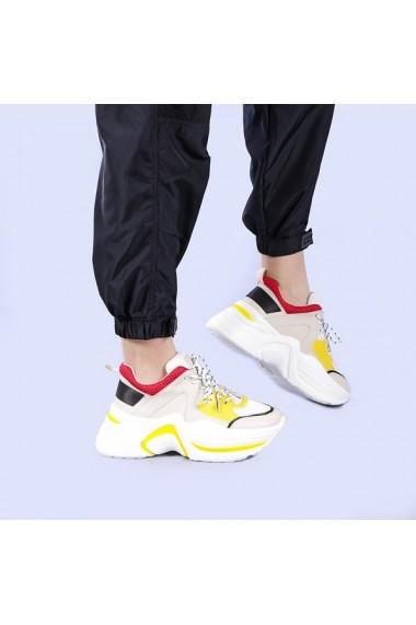 Pantofi sport dama Aziza bej