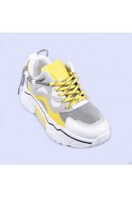 Pantofi sport dama Pamela galbeni