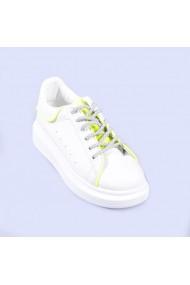 Pantofi sport dama Brinda albi