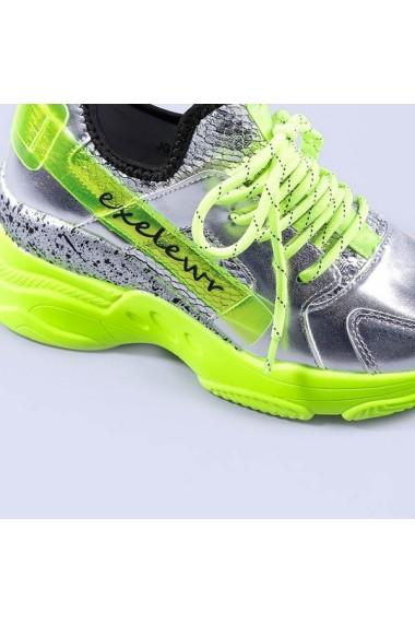 Pantofi sport dama Abigail galbeni