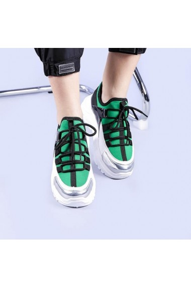Pantofi sport dama Sequoia verzi