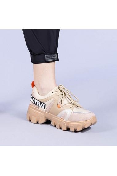 Pantofi sport dama Magdalen bej