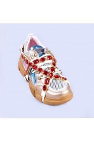 Pantofi sport dama Chan champanie