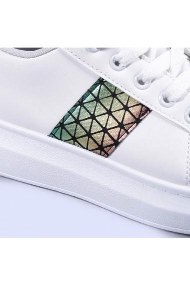 Pantofi sport dama Chickoa argintii