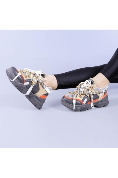 Pantofi sport dama Chan gri