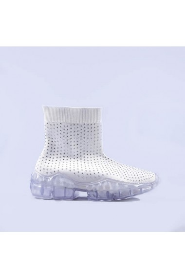 Pantofi sport dama Carlia albi
