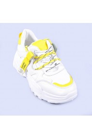 Pantofi sport dama Pemota galbeni