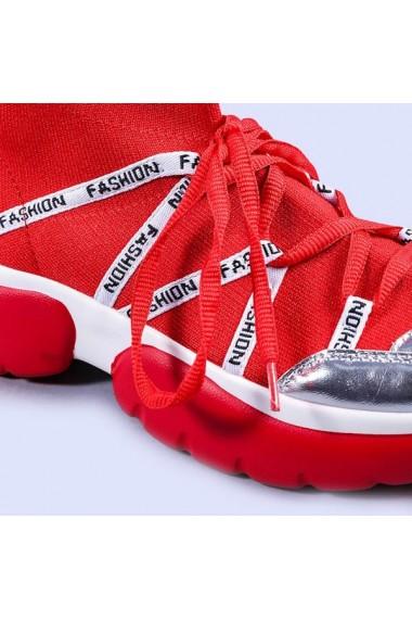 Pantofi sport dama Ramona rosii