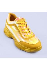 Pantofi sport dama Cosmina galbeni