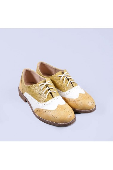 Pantofi casual dama Delores galbeni