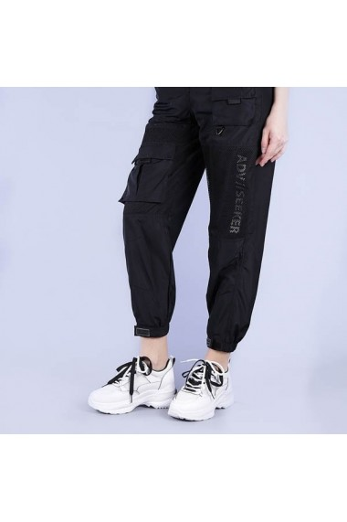 Pantofi sport dama Graziela albi cu negru