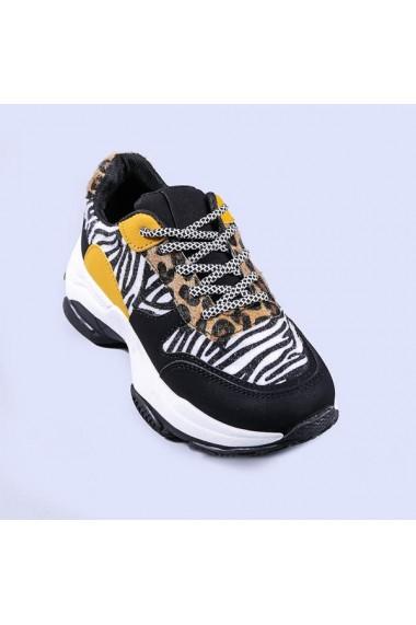 Pantofi sport dama Juliet zebra