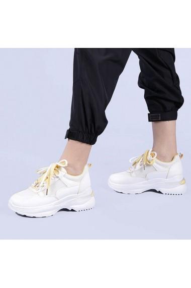 Pantofi sport dama Graziela galbeni