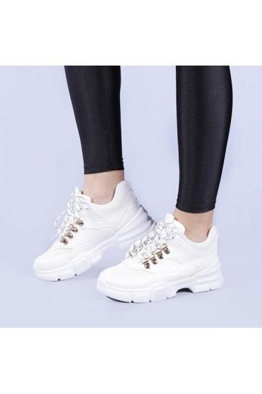 Pantofi sport dama Harmony albi