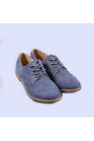 Pantofi casual dama Kami albastri