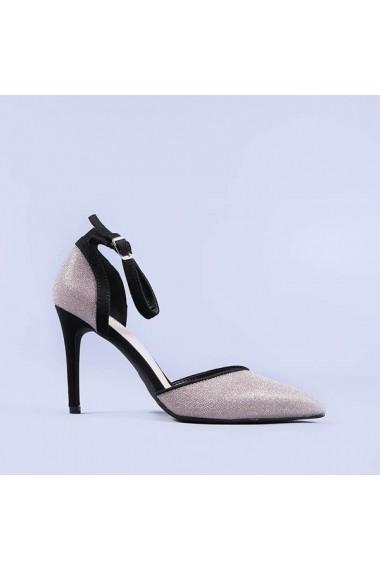 Pantofi dama Carola champanie