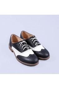 Pantofi casual dama Delores negri