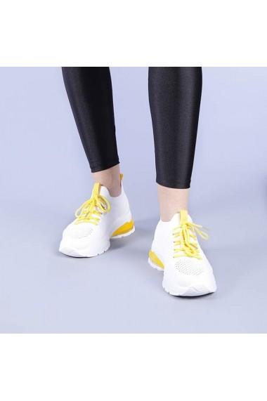 Pantofi sport dama Coralia galbeni
