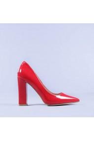 Pantofi dama Clare rosii