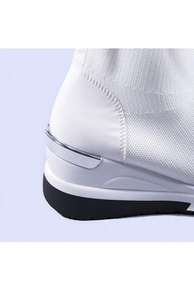 Pantofi sport dama Haven albi