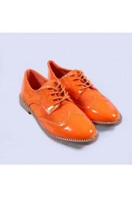 Pantofi casual dama Basma portocalii