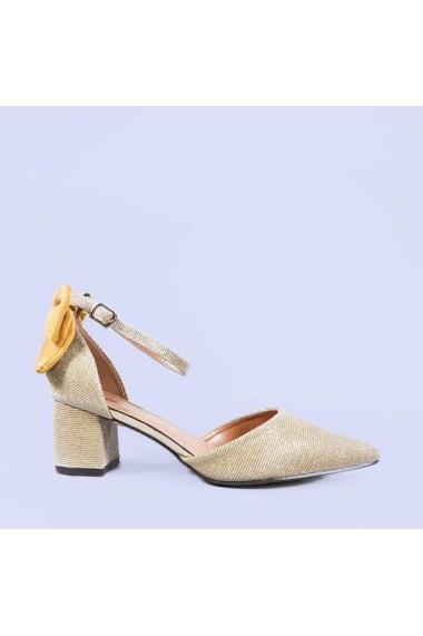 Pantofi dama Antoaneta aurii