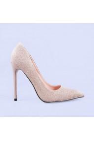 Pantofi stiletto Galatea aurii